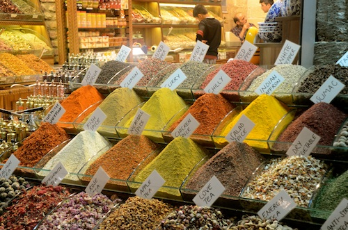 Sights, sounds, smells! The bazaars in Istanbul- June 4, 2012 (1/6)