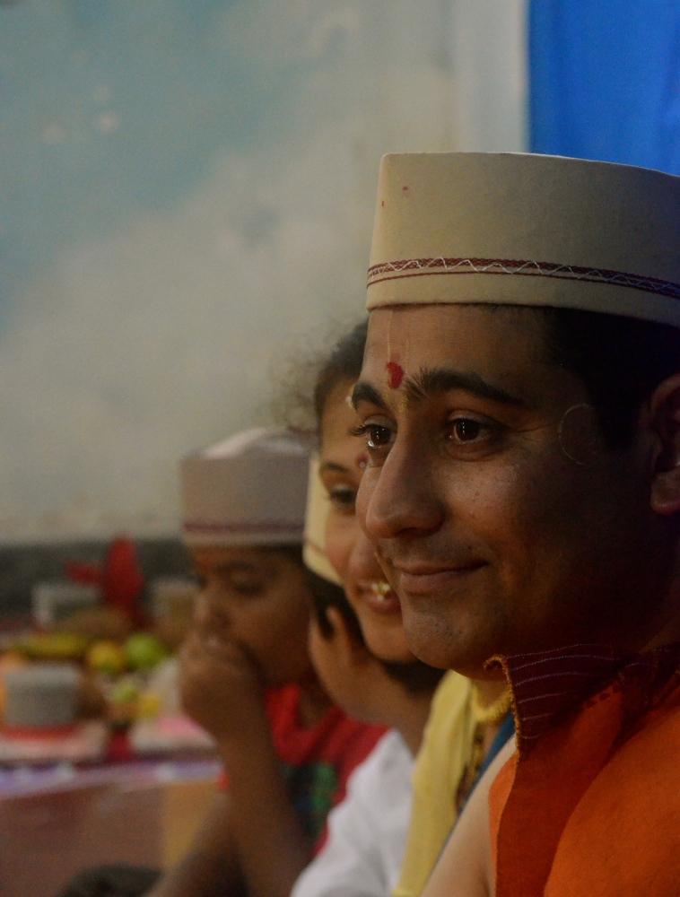 Portraits from Arnav's Upanayan Ceremony- July 31, 2012 (3/6)