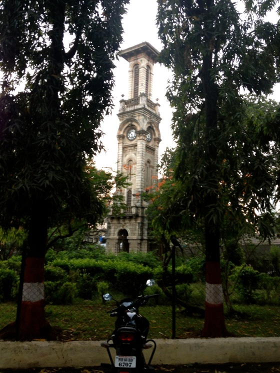 The tower at Rani Bagh that you can see from the road when you pass by. A certain memory from my childhood in Mumbai