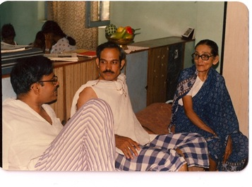 The two-week visits to Goa were filled with conversation- Anookaka, Dad, Ajee; About 1985
