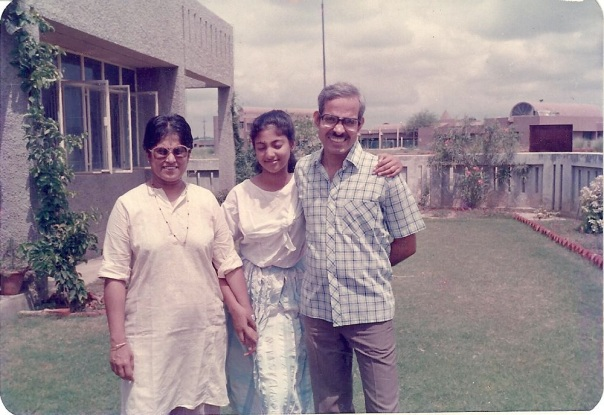 The three of us in the fronnt lawn of the house in SGPGI Lucknow. I must have been in Class 9 or so...many happy memories of life on that campus, friends, parties, fights, games....