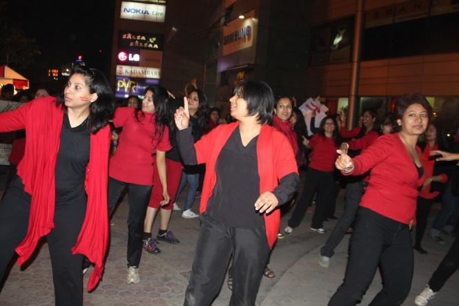 The flash mob that ensured the entire event ended on a fun, participatory note!