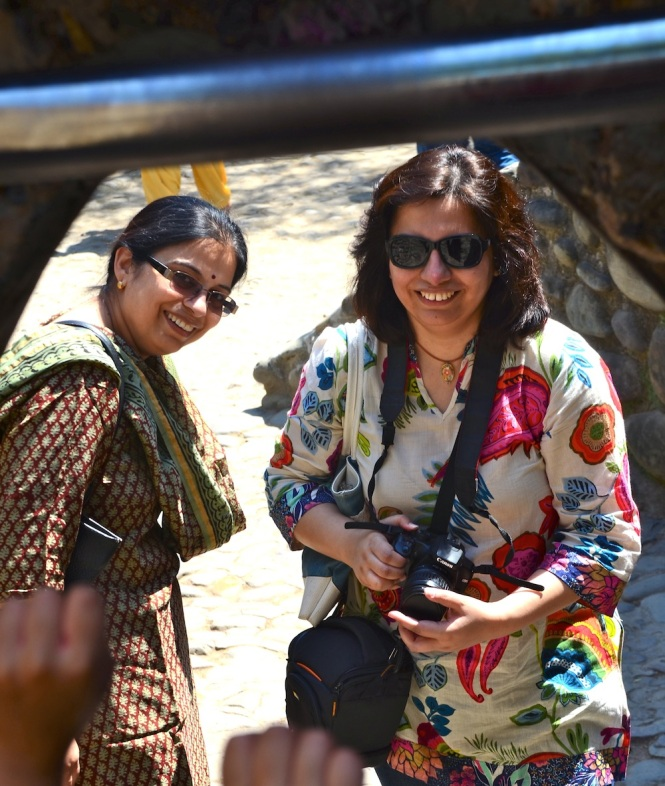 The two sisters rocked the trip, the whacky Chaturvedi humor keeping spirits high....yay for Meeta didi and Nupur!