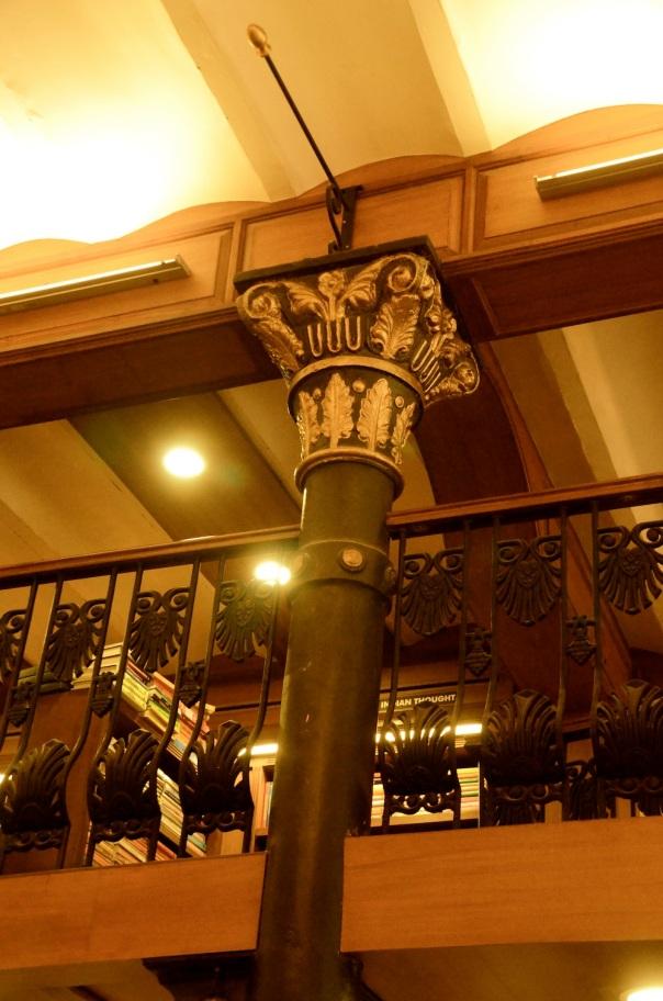 Column close up