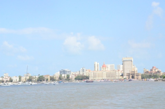 Mumbai skyline on a hot hot day