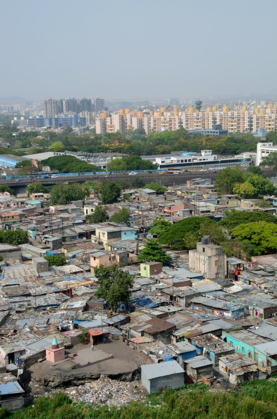 The slum in the city, the slum and the city, the slum the city.....We really need to find a more engaged way to 'solve' this 'problem'!