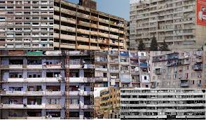 Vertical slums in Latin America, born out of relocating favella residents into high rise apartments