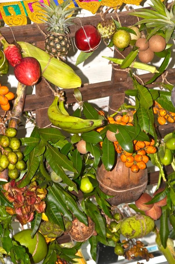 The completed matoli....vibrant, symbolizing nature, life...