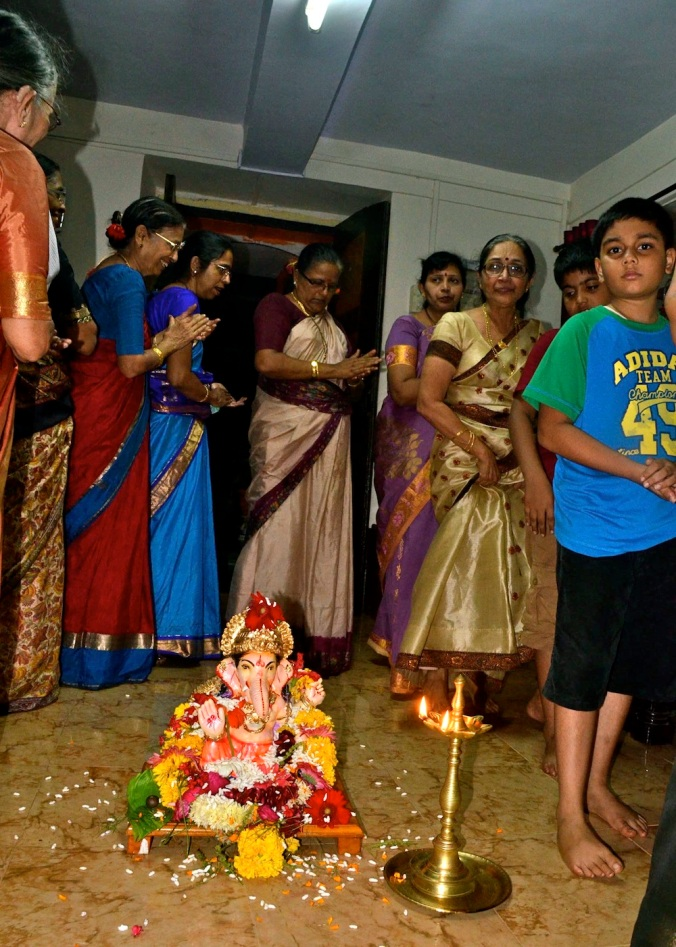 Our little jig around Ganapati. Check out the video link as well!