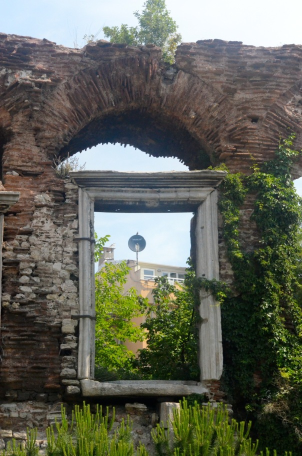 City walls, Istanbul, Turkey