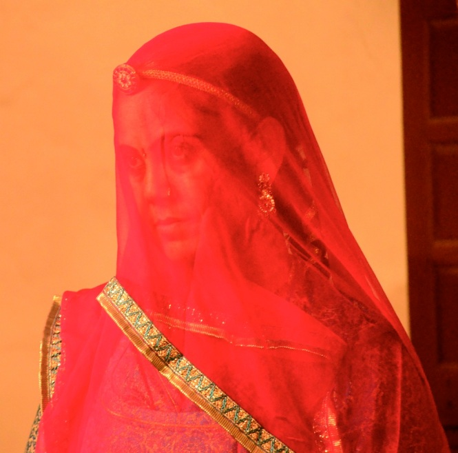 Rajput women wear their veil with immense pride. No symbol of oppression this, I can assure you!