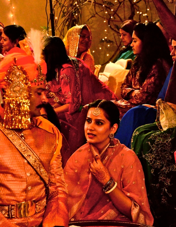 Some asides and the general ambience of the wedding!