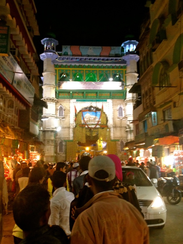 The Buland Darwaza, main gate to the Dargah