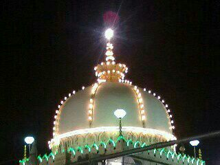 The magnificent dome. This pic was sent later to me by our khadim