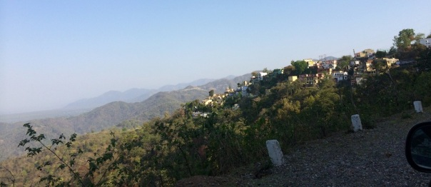 Approaching Narendranagar