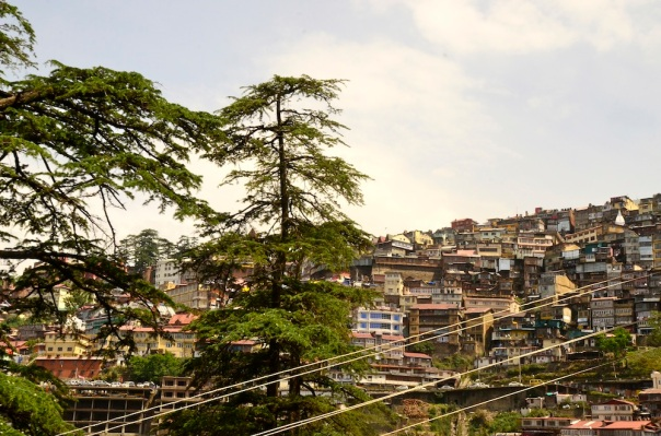 The city rests helter skelter in the midst of the most stunning hillside scenery
