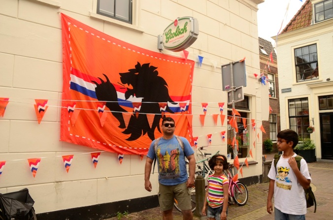 Our Haarlem expedition was just a couple of days before the FIFA mania began!