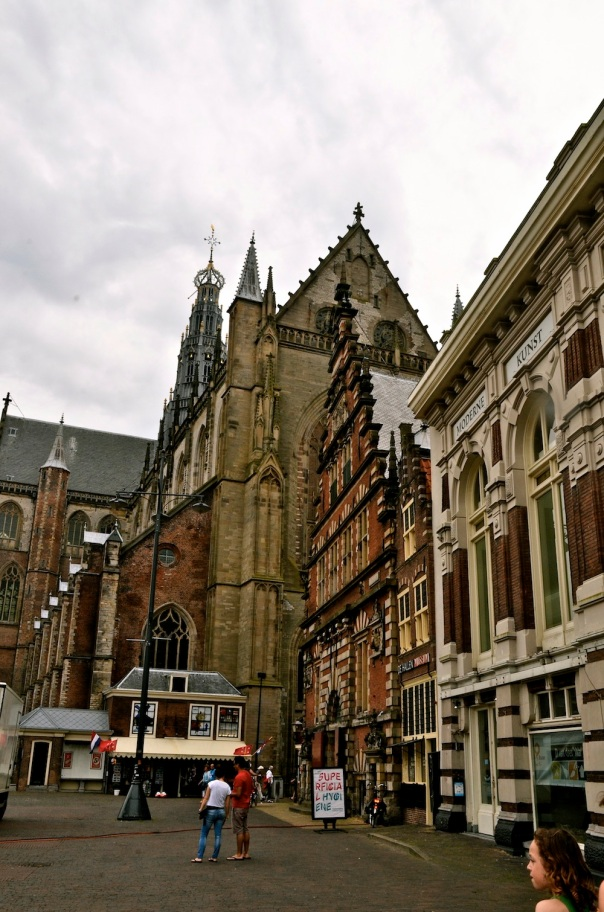 St. Bavo towers over the Grote Markt