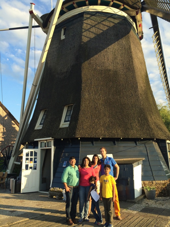A touristy pic in front of the grand old windmill