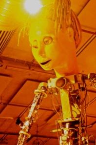 museum made robot!