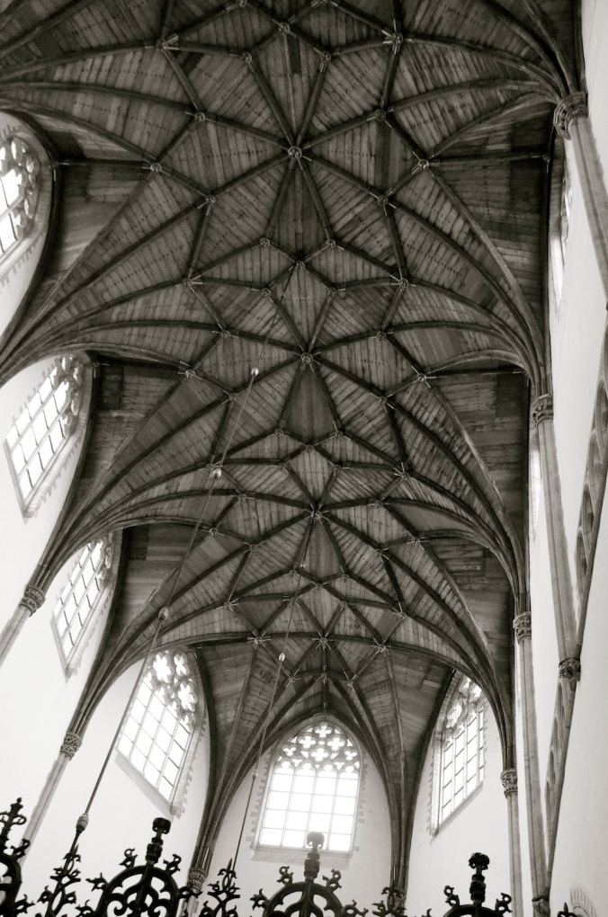 The intricacy of the ceiling, so Gothic!