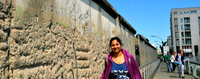 My touristic shot with the Wall