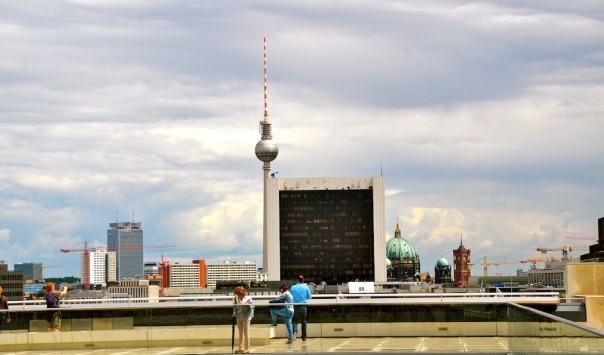 Look at the architectural variety Berlin has to offer!