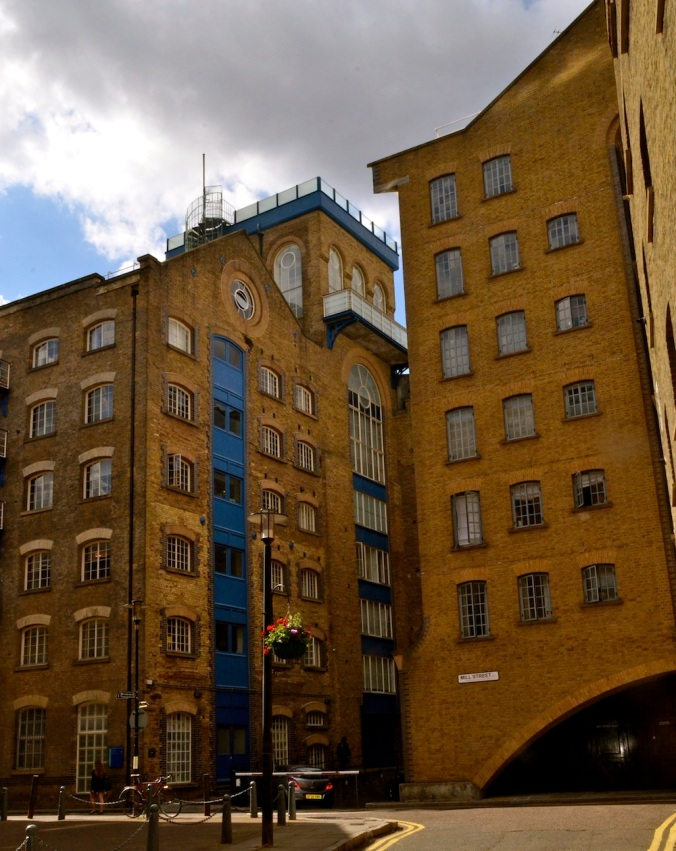 More of it...all high-end apartments, offices etc in buldings that were once warehouses to store cargo that got off the ships!