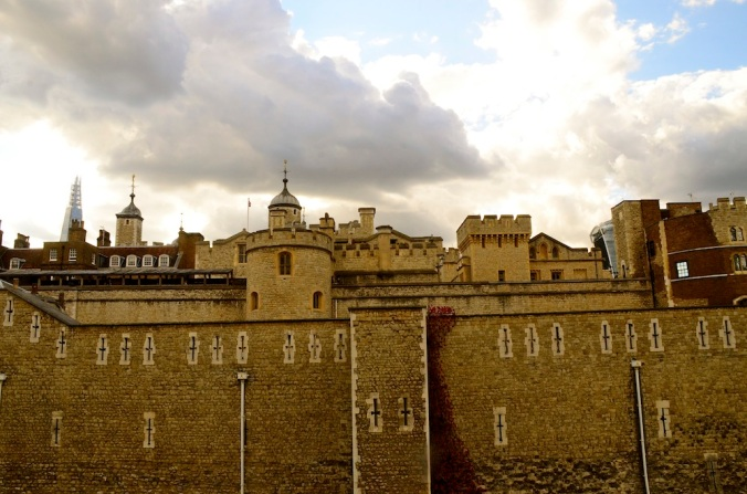 Walking around the Tower of London.  I was here 15 years ago...