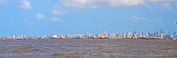 Mumbai skyline: Global capital is the driving force for cities and city imaginations too