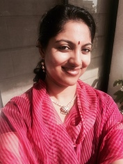 Day 47 ‪#‎100sareepact‬ Classic pink georgette leheriya typically worn in Rajasthan. No embellishments, the way I love it. The saree must be over 30 years old and belongs to Amma. It's got little holes, large bits are darned; it's clearly been worn a lot. Am really into pulling out the ancient family treasures nowadays and giving them a new lease of life! Loving it!