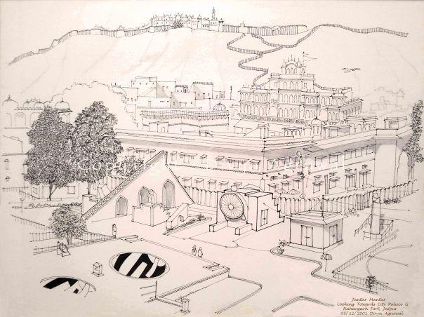 View from Jantar Mantar