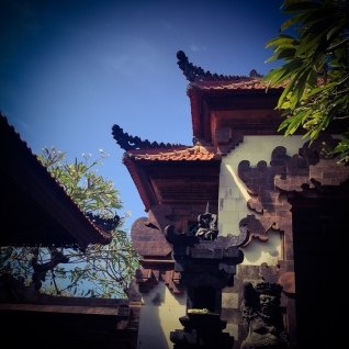Private temple, Seminyak