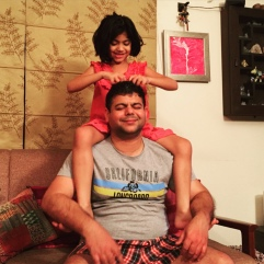 Fathers are important role models: Rahul and Aadyaa