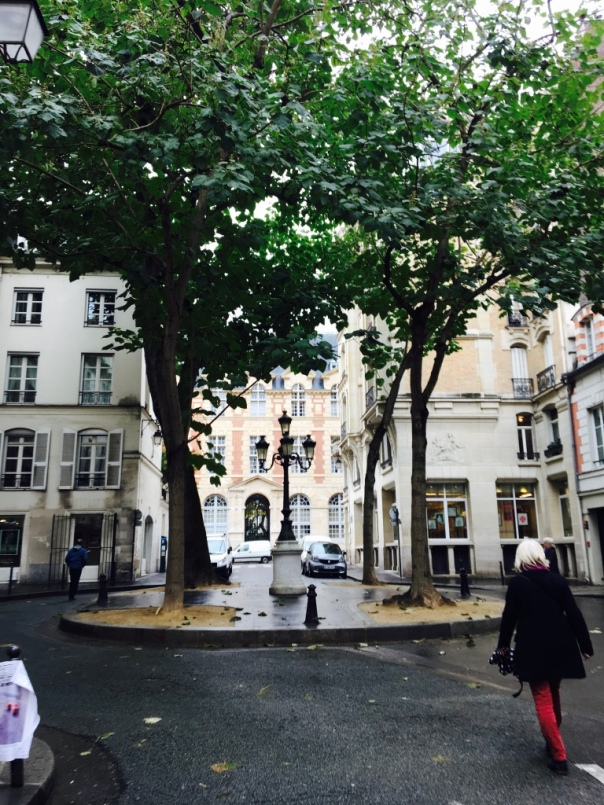 Another serene space in busy Paris