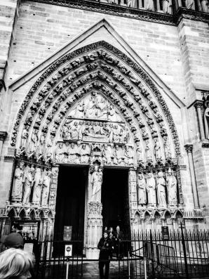 The magnificant entrance door