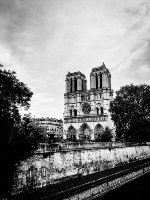Notre Dame, as we walk away